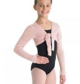 Bloch/Mirella Bloch  Girls Crop Tie Front Top