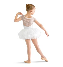 Bloch/Mirella Bloch Vine Mesh Cap Sleeve - Child