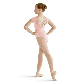 Bloch/Mirella Bloch Butterfly Cap Sleeve Leotard - Child