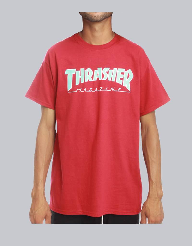 thrasher Thrasher - outlined tee