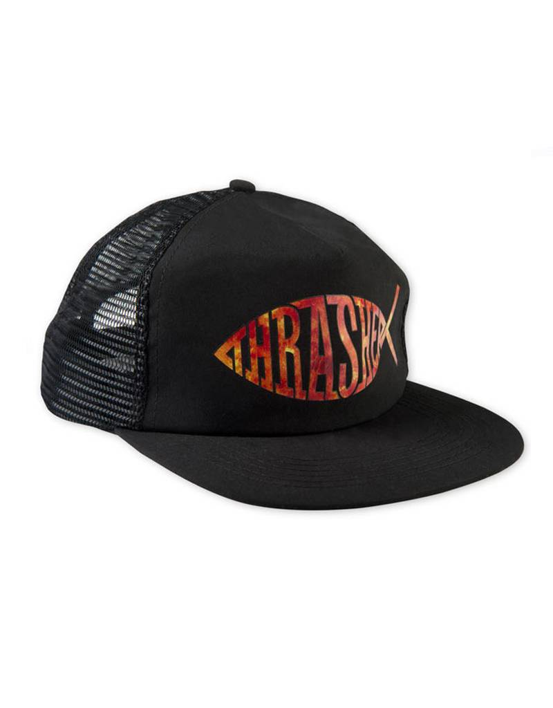 thrasher Thrasher - mesh fish snapback hat