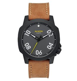 nixon Nixon - ranger 40 leather watch