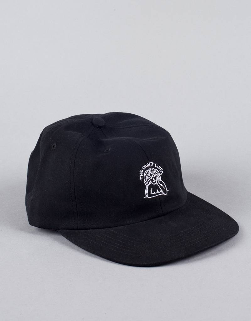 the quiet life Quiet Life - smoking girl polo hat