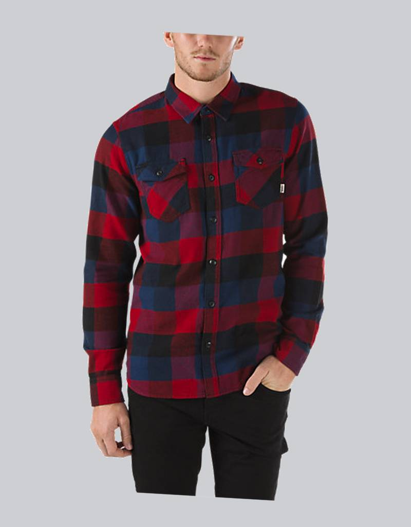 vans box flannel shirt