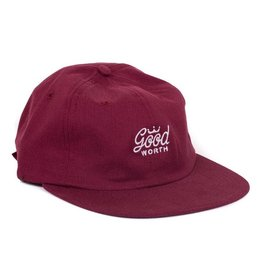 the good worth The Good Worth - crown logo strapback hat