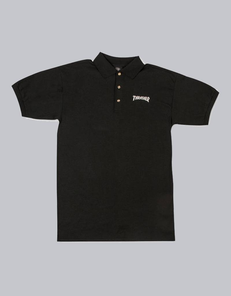 thrasher Thrasher -  logo embroidered poloshirt
