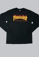 thrasher Thrasher - flame longsleeve tee