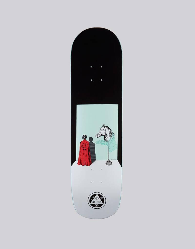 welcome skateboards Welcome - haunted horse on big bunyip deck