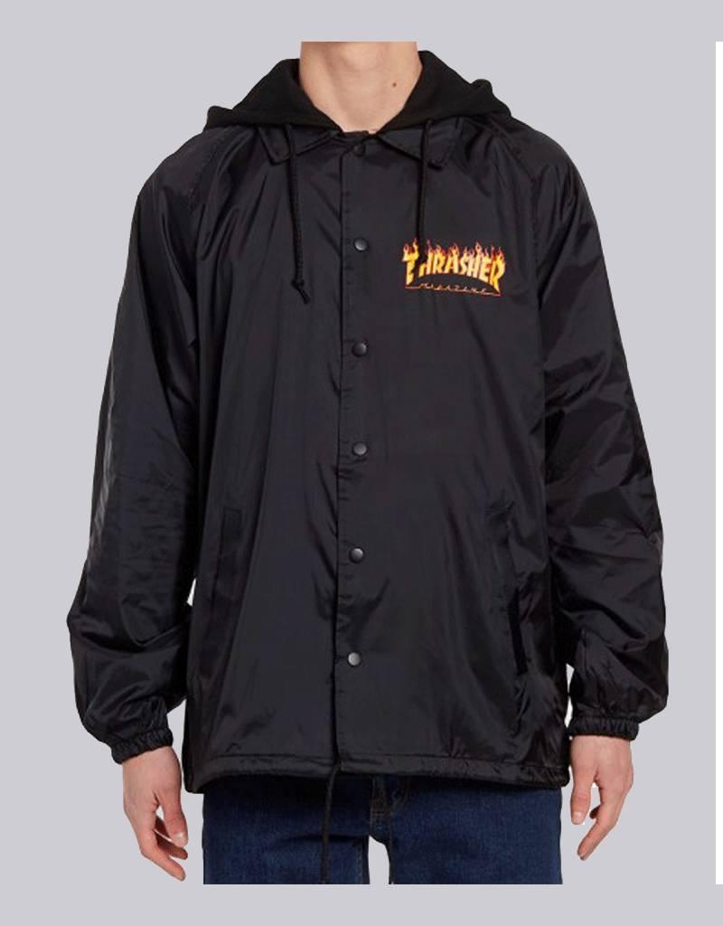 thrasher Thrasher - flame logo coach jacket