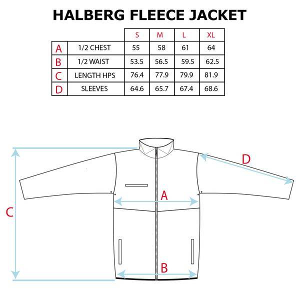 polar Polar - halberg fleece
