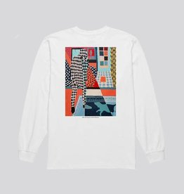 polar Polar - man with dog longsleeve tee