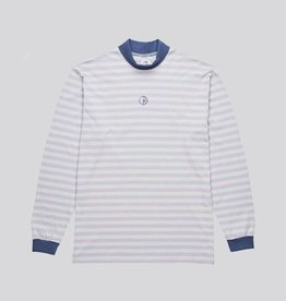 polar Polar - striped mockneck tee