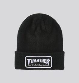 thrasher Thrasher - logo patch beanie
