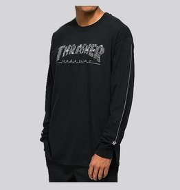 thrasher Thrasher - web long sleeve tee