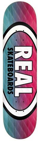 real parallel fade oval 8.25 deck