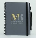 Spirit Products Journal w/ MB logo w/ Pen  5x7
