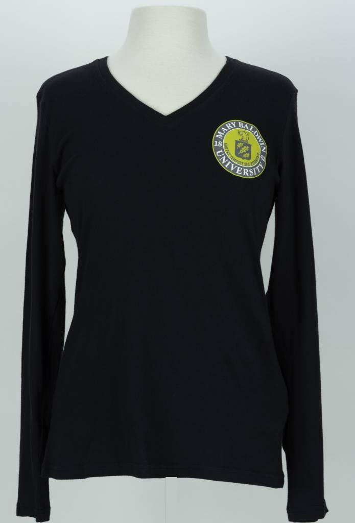 Gear Gear LS V-Neck Tee w/ University Seal