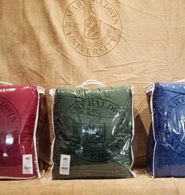 MV Micro Boa-Sherpa Blanket w/ University Seal
