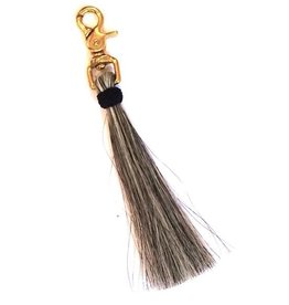 Oliveve HORSE HAIR TASSEL ON BRASS CLIP