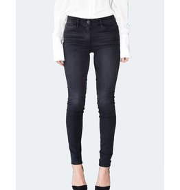 3x1 Denim HIGH RISE CHANNEL SEAM SKINNY