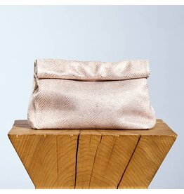 Marie Turnor LUNCH CLUTCH - PINK SPARKLE