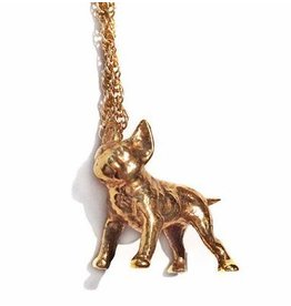 Verameat TINY FRENCHIE LOVER NECKLACE