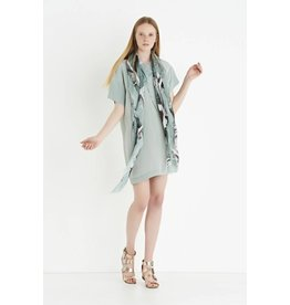 ottod'Ame SILK DRESS W/ FRONT SEAM