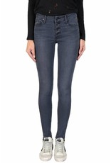 Black Orchid CANDICE BUTTON FRONT SKINNY