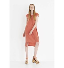ottod'Ame ASYMMETRIC SILK DRESS