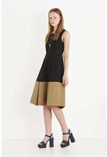 ottod'Ame COLOR BLOCK DRESS