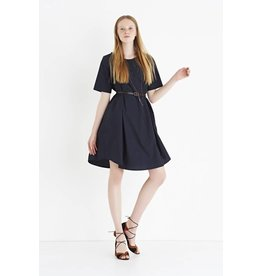 ottod'Ame FLARED DRESS IN COTTON POPLIN