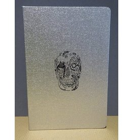 D.L. & CO. SILVER JOURNAL W/ SKULL