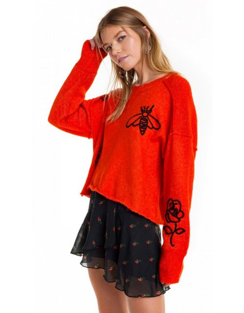 WILDFOX ALCHEMY ICONS GATE SWEATER