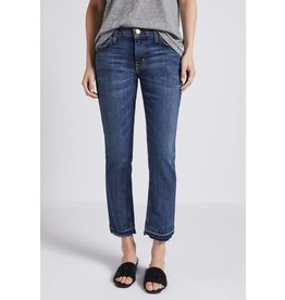 CURRENT/ELLIOTT THE CROPPED STRAIGHT LEG JEAN