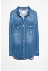 Zadig & Voltaire TARO DENIM BUTTON DOWN