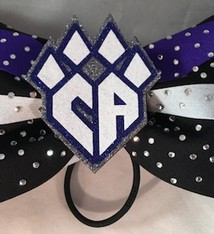 COLUMBUS Cupidcats Competition Hair Bow 2016-17