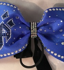 COLUMBUS Omegacats Competition Hair Bow 2016-17
