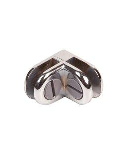 2 way metal cube connector