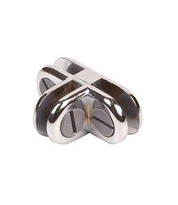 3 way metal cube connector