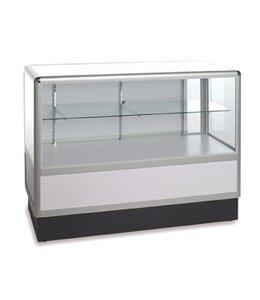 2/3 vision glass counter aluminum