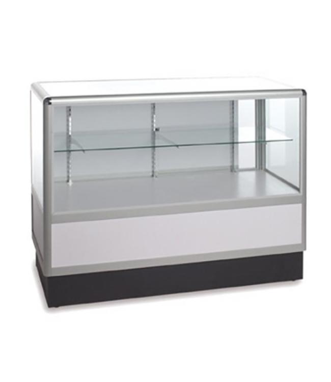 Comptoir vitré 2/3 vision aluminium