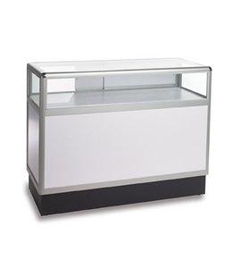 1/3 vision Glass counter aluminum