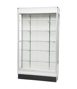"48"" x 14"" x 84""H wall display case"