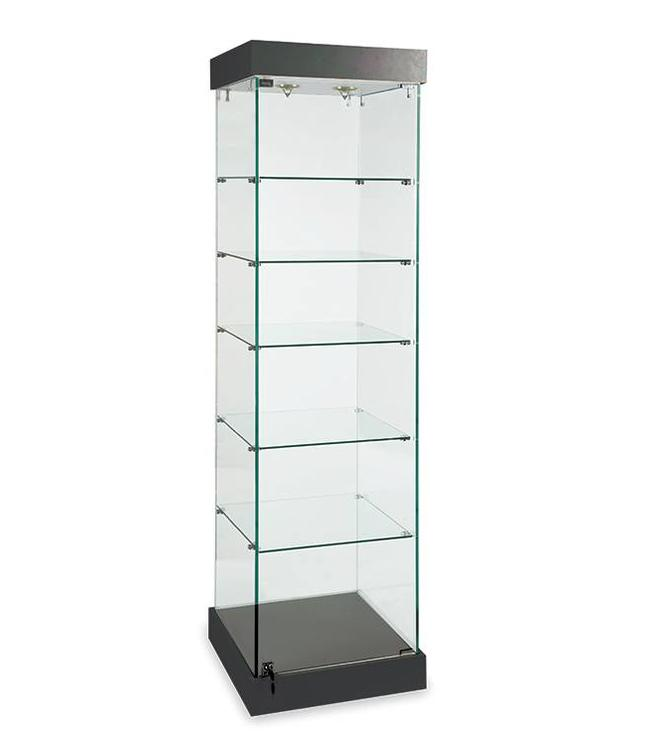 "72""H Glass display tower"