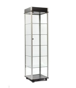 """20"""" x 20"""" x 76"""" H display tower with casters"""