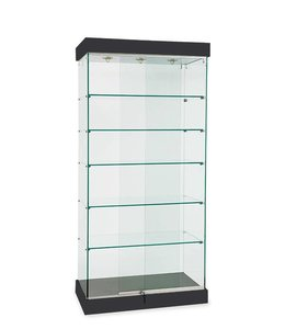 """36"""" x 20"""" X 76"""" H wall or central display case"""