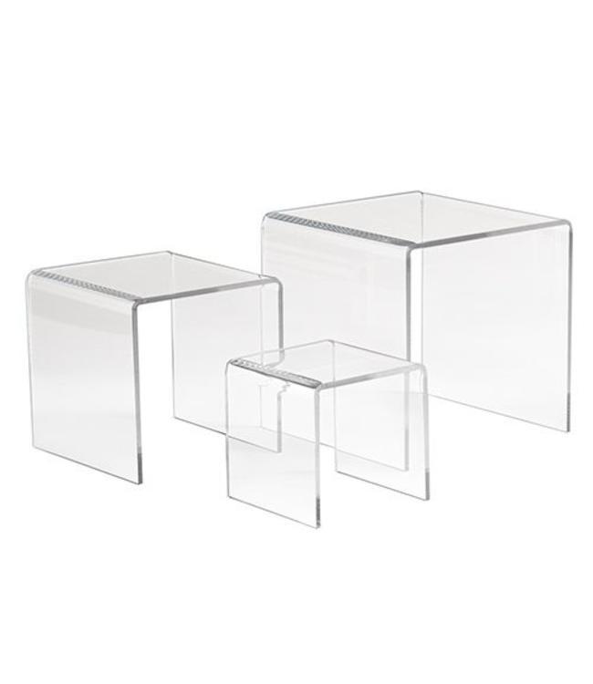 Petits podiums carrés