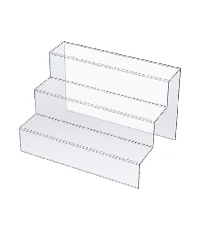 Escalier en acrylique 14'' x 9'' x 9'' H