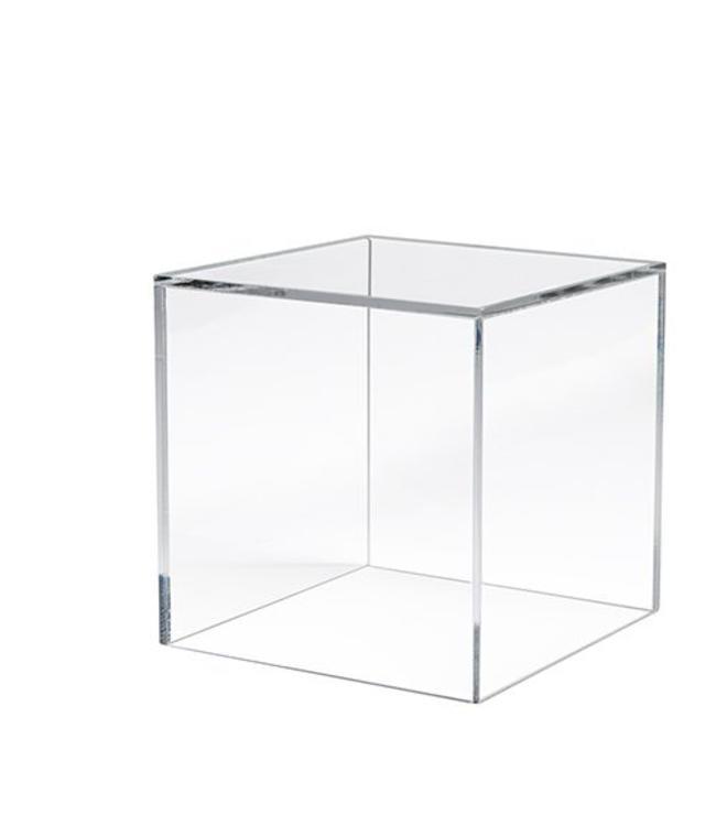 """5 faces acrylic cube 10"""" x 10"""" x 10 H"""