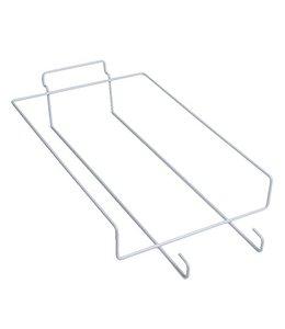 "Shelf wire for 6 baseball cap for slatwall 8.5"" x 14"""